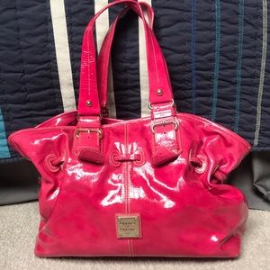 Neon Pink Dooney and Bourne Purse